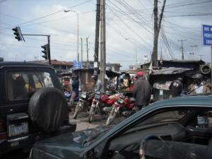 "Lagos wins the ""most chaotic traffic"" GOLD medal!"