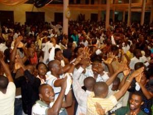 Praise passion in Africa!