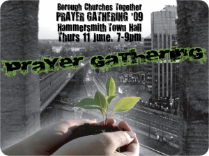Prayer Gathering promo slide update