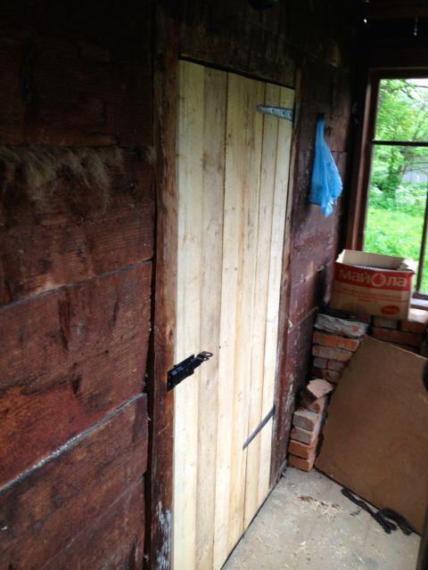 Door made...