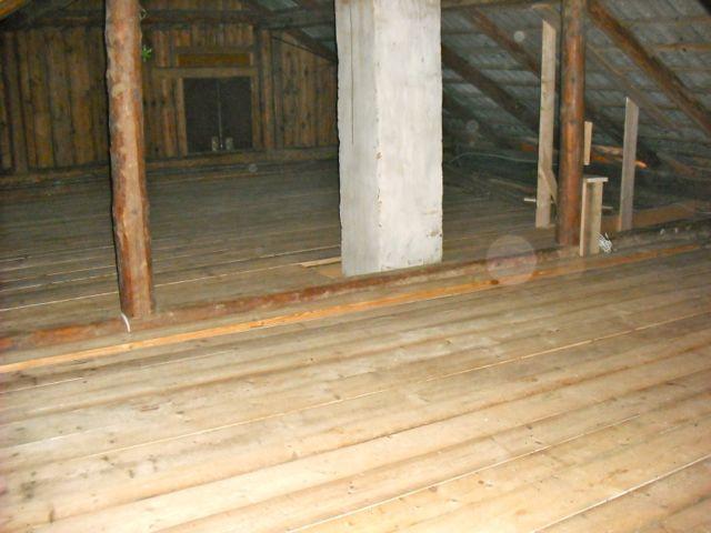 Loft floor completed