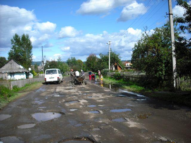 Potholes!