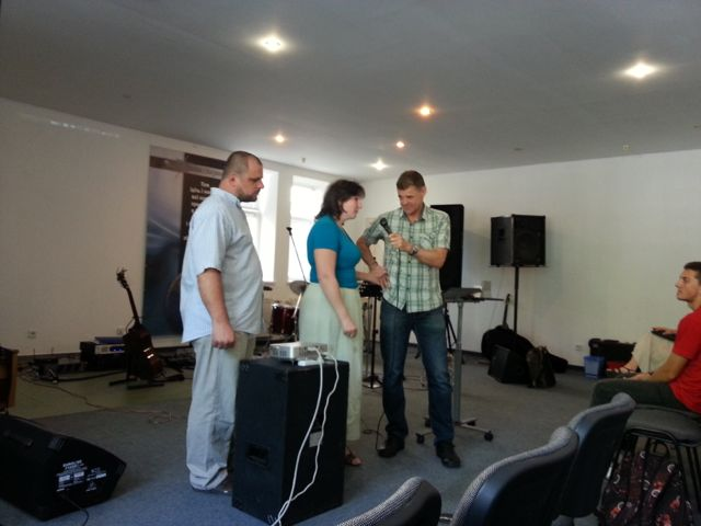Testimony in church