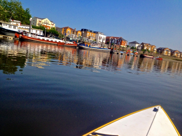Early morning Stand Up Paddle Board... there is beauty everywhere if you position yourself with eyes open...