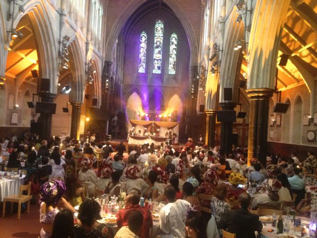 St Pauls at the wedding - this is the venue for our Gods Not Dead finale on Oct 10th. Put it in your diary today!