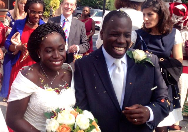 Tosin & Claudia wedding!