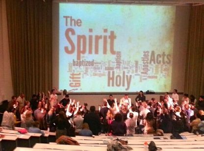 Holy Spirit Ministry time...
