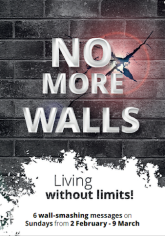 No more walls advert