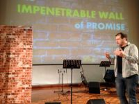 Dan preaching part 2 of the No More Walls series