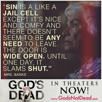 Quote fro God's Not Dead movie...