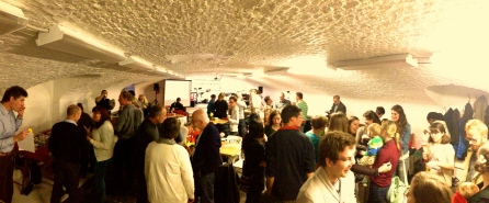 The cool EN Gent meeting venue