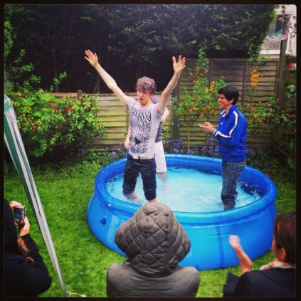 Water baptisms!