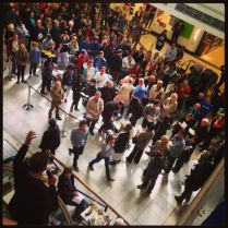 Good Friday Churches Together service in Kings Mall