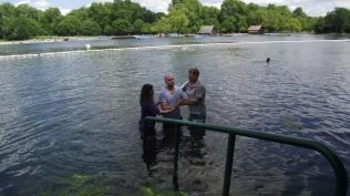 Baptism in Hyde Park