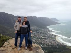 Climbed Lion's Head in Cape Town. With my brother (From SA) and sister (From Perth)