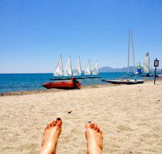 Greek Island beach...