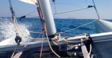 Sailing a wild Cat in Greece!