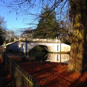 Beautiful Chiswick House just down the road from us...