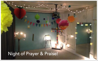 Night of prayer venue