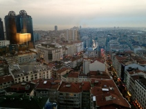 View over Istanbul, Europe's largest city