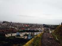 Early morning prayer run up Authors Seat watching over the city...