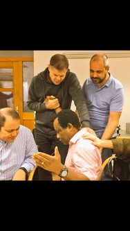 Welcoming pastor John Anierobi from Austria into our EN family ...