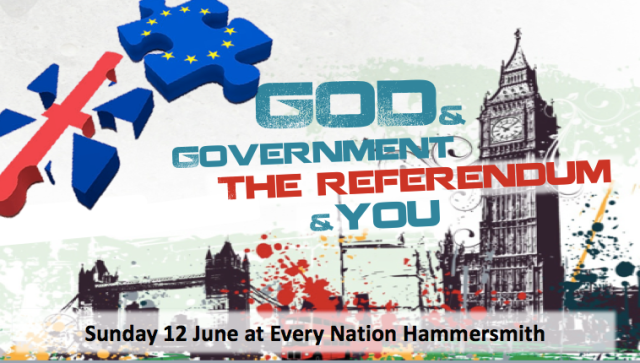Referendum message advert