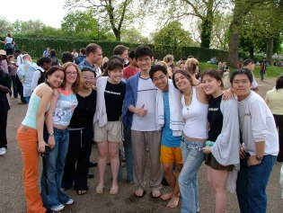 Students from the nations