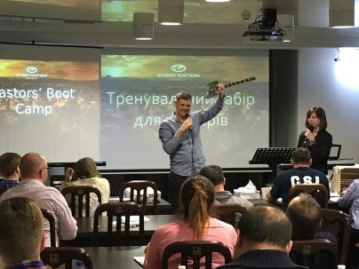 Ukraine Pastors Boot